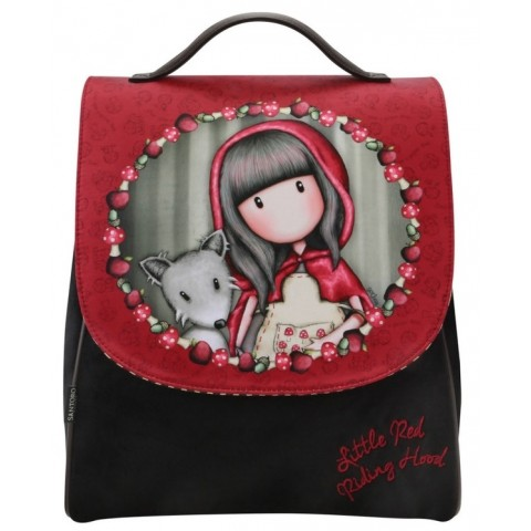 Santoro Gorjuss Rucsac cu broderie Little Red Riding Hood