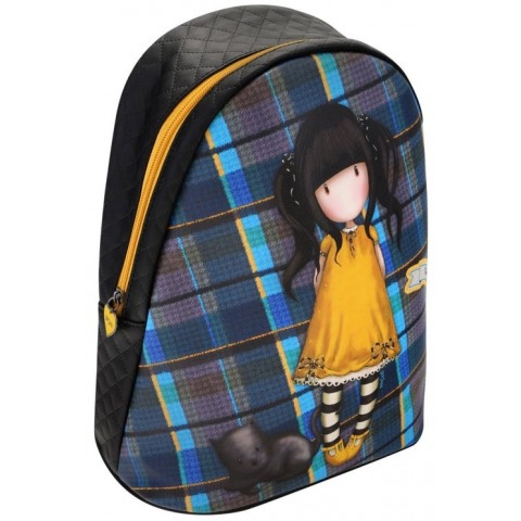 Santoro Gorjuss Rucsac fashion Tartan Ruby