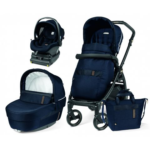 Peg Perego Carucior 3 in 1 Book 51 Rock Navy i-Size
