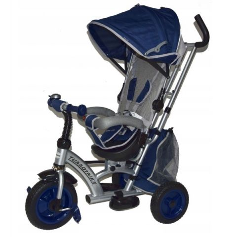 Baby mix tricicleta cu sezut reversibil sunrise turbo trike dark blue