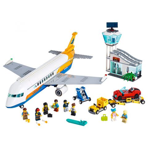 LEGO City Avion de pasageri (60262)