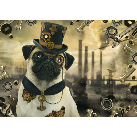 Puzzle Steampunk caine 1000 piese