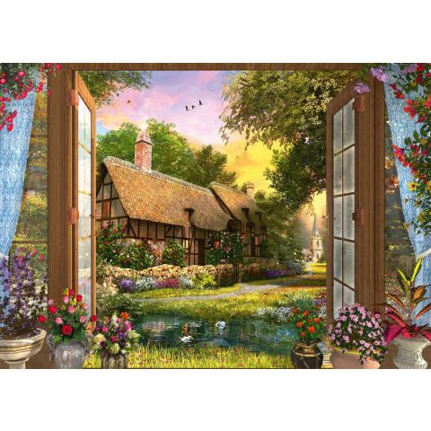 Puzzle 1000 piese View of the Cottage