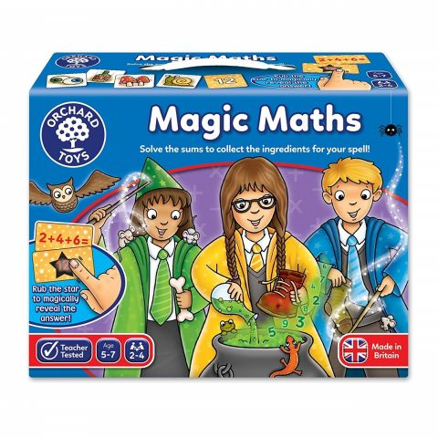 Orchard Toys Joc educativ Magia Matematicii MAGIC MATH