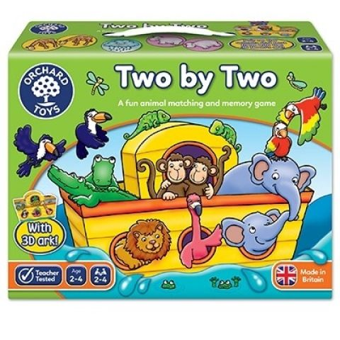 Orchard Toys Joc educativ Arca lui Noe TWO BY TWO