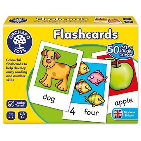 Orchard Toys Joc educativ in limba engleza Cartonase FLASHCARDS