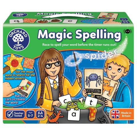 Orchard Toys Joc educativ in limba engleza Silabisirea Magica MAGIC SPELLING