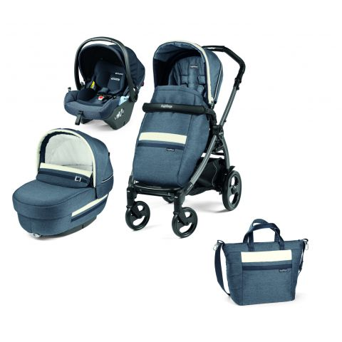Peg Perego Carucior 3 in 1 Book 51 Titania Lounge Luxe Mirage
