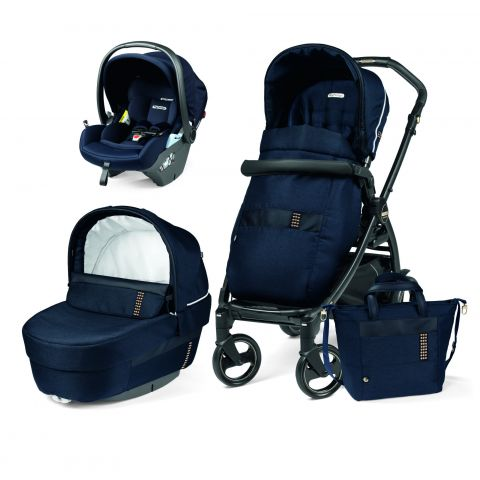 Peg Perego Carucior 3 in 1 Book 51 Titania Lounge Rock Navy