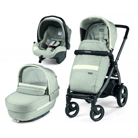 Peg Perego Carucior 3 In 1 Book Plus 51 S Titania Luxe Pure