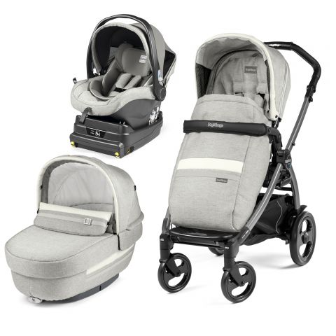 Peg Perego Carucior 3 in 1 Book Plus 51 Titania i-Size Luxe Pure