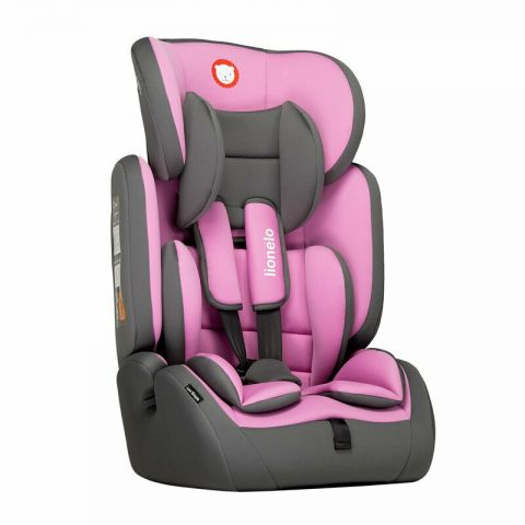 Lionelo Scaun auto copii 9-36 kg Levi Simple Candy Pink