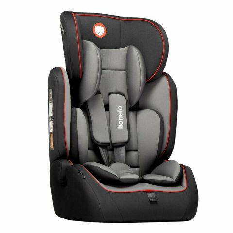 Lionelo Scaun auto copii 9-36 kg Levi Simple Sporty Black