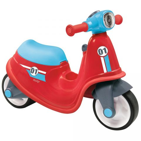 Smoby Scuter Scooter Ride-On red