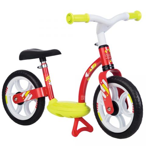 Smoby Bicicleta fara pedale Comfort red