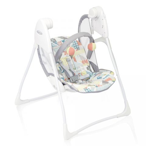 Graco Balansoar Graco Baby Delight Patchwork