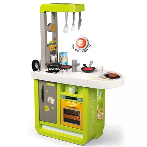 Smoby Bucatarie electronica Cherry verde cu sunete