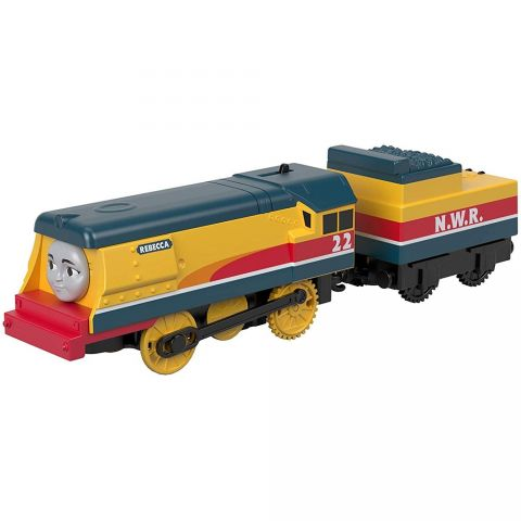 Fisher Price Tren Fisher Price by Mattel Thomas and Friends Trackmaster Rebecca