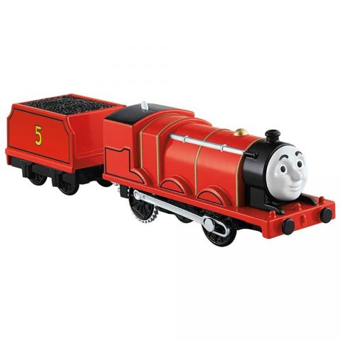 Fisher Price Tren Fisher Price by Mattel Thomas and Friends Trackmaster James