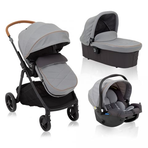 Graco Carucior Near2Me Steeple Grey sistem 3 in 1
