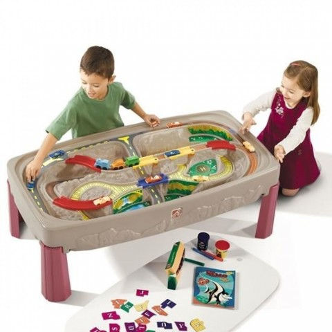 Step2 Joc Deluxe Canyon Road Train and Track Table