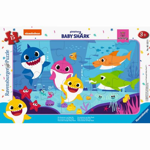 Ravensburger PUZZLE BABY SHARK, 15 PIESE