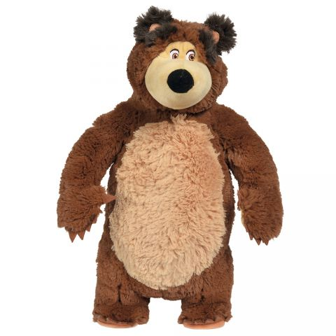 Jucarie de plus  Masha and the Bear, Shake and Sound Bear 43 cm