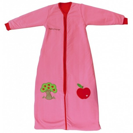 Slumbersac sac de dormit cu maneca lunga apple of my eye 18-36 luni 2.5 tog