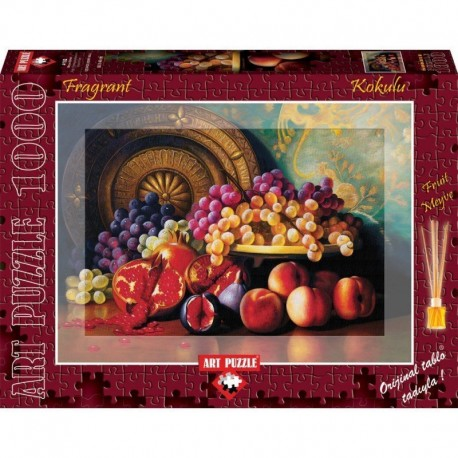 ArtPuzzle Puzzle 1000 piese - Parfumat - Figs, pomegranates and brass plate