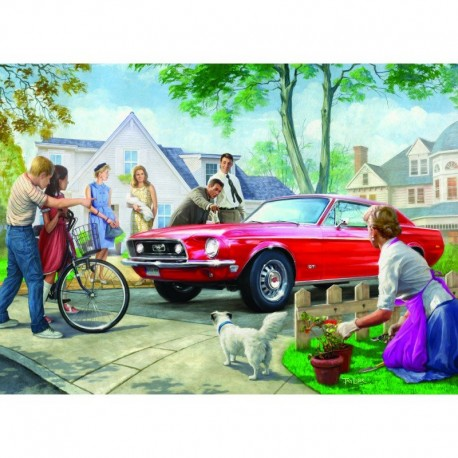 Eurographics Puzzle 1000 piese The Red Pony-Nestor Taylor