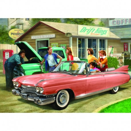 Eurographics Puzzle 1000 piese The Pink Caddy-Nestor Taylor