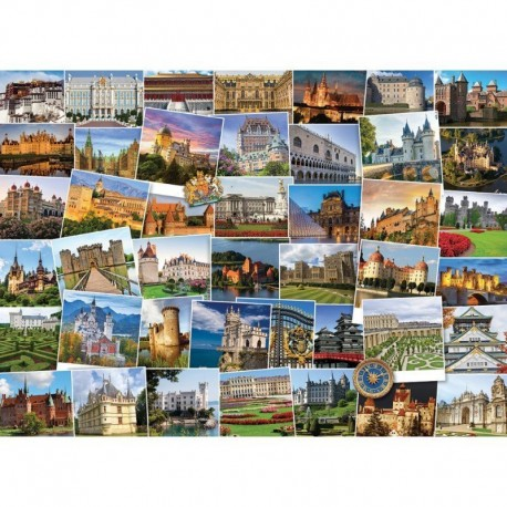 Eurographics Puzzle 1000 piese Globetrotter Castles and Palaces