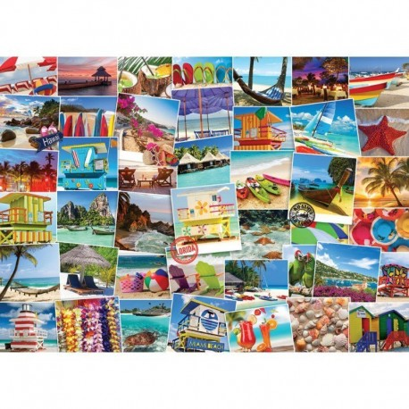 Eurographics Puzzle 1000 piese Globetrotter Beach