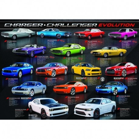 Eurographics Puzzle 1000 piese Dodge Charger Challenger Evolution
