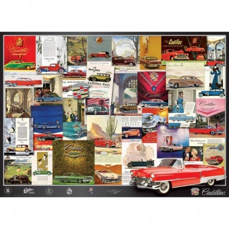Eurographics Puzzle 1000 piese Cadillac Advertising Collection
