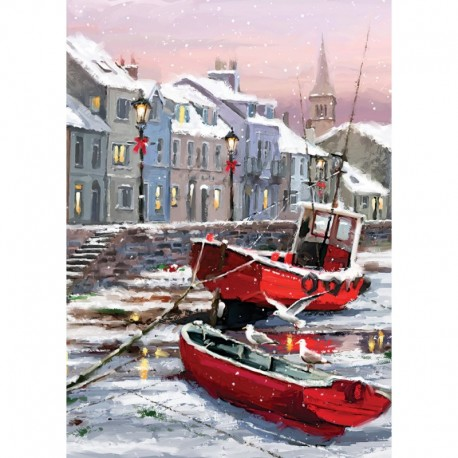 ArtPuzzle Puzzle 1500 piese - WINTER S RESIDENTS