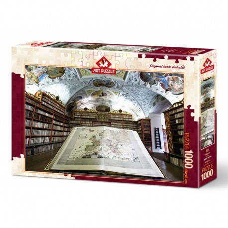 ArtPuzzle Puzzle 1000 piese - LIBRARY