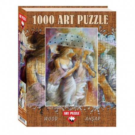 ArtPuzzle Puzzle 1000 piese - din lemn One Day In May-LENA SOTSKOVA