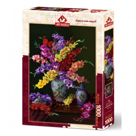 ArtPuzzle Puzzle 1000 piese - FLOWER AND COLORS