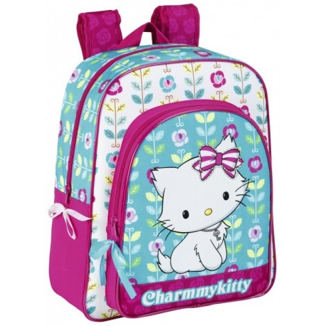 "Sanrio Ghiozdan junior colectia Charmmy Kitty ""Flowers"" 2"