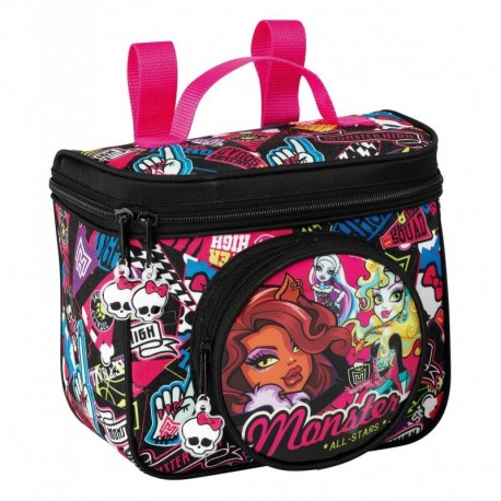 Ghiozdan rucsac termoizolant Monster High All stars 18 cm