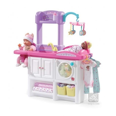 STEP2 Mini cresa pentru copii NEW - Love & Care Deluxe Nursery