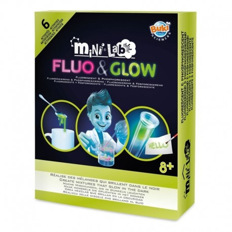 BUKI France Mini - laboratorul Fluo & Glow