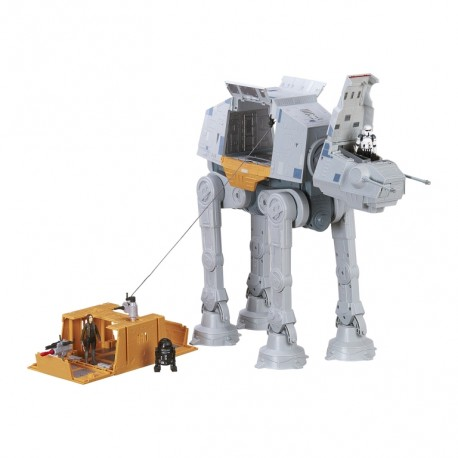 Star Wars Rogue One transportor imperial AT-ACT, RC, Bluetooth, motorizat, tun NERF