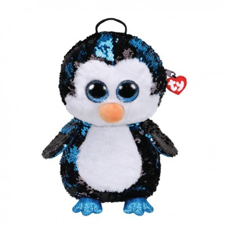 Ty Rucsac cu paiete pinguinul WADDLES - Ty