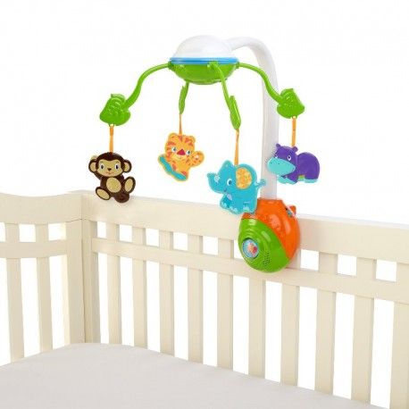 Bright Starts Carusel 2 in 1 Soothing Safari Mobile