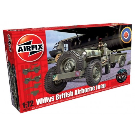 Airfix Kit constructie Masina Willys British Airborne Jeep