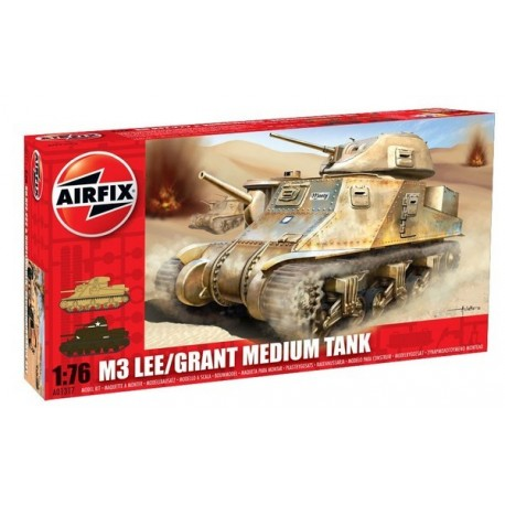 Airfix Kit constructie Tanc M3 Lee/Grant Medium Tank