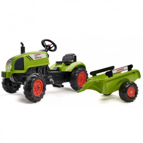 Falk Tractor Claas Arion 410 cu Pedale si Remorca