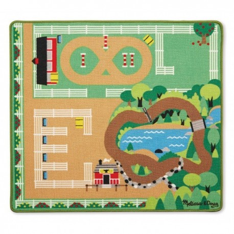 Melissa and Doug Covor de joaca Ferma calutilor